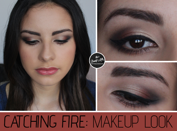 catching fire the balm balm voyage makeup look