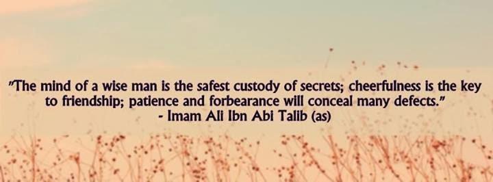 Hazrat Imam Ali Ibn E Abi Talib R.A Spiritual Quotes