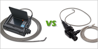 Videoscopes versus Fiberscopes comparison