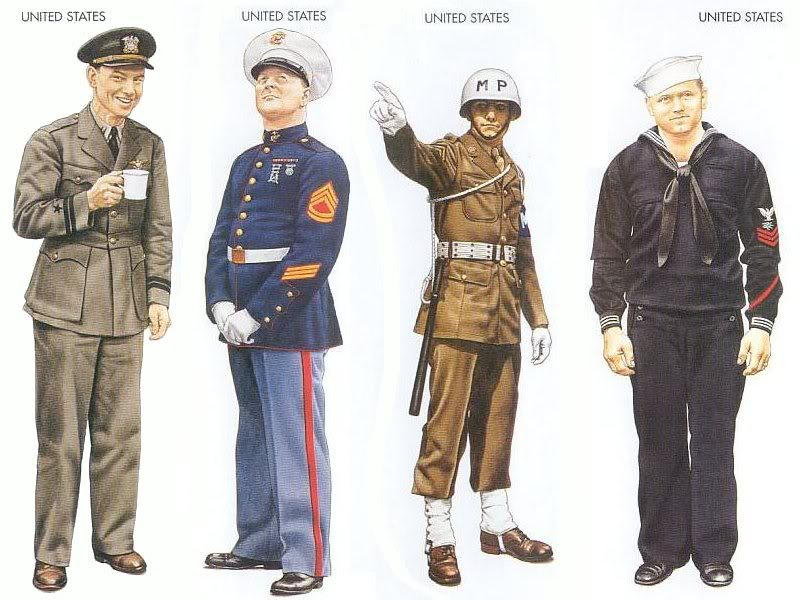 World war ii uniform identification key the phora publicscrutiny Choice Image