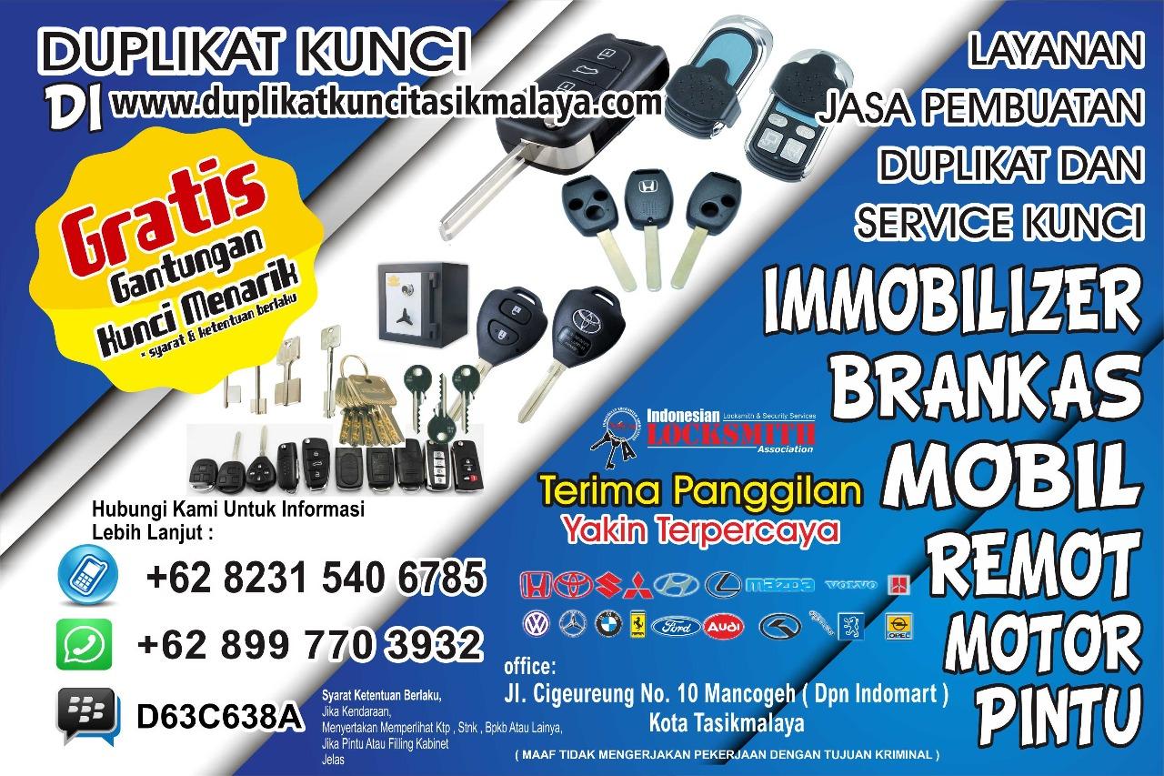 Tukang Duplikat Kunci Panggilan Tasikmalaya - 082315406785 -ahli kunci - tukang kunci-service kunci
