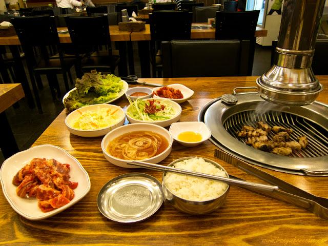 Korean Barbecue in Yeongdeungpo