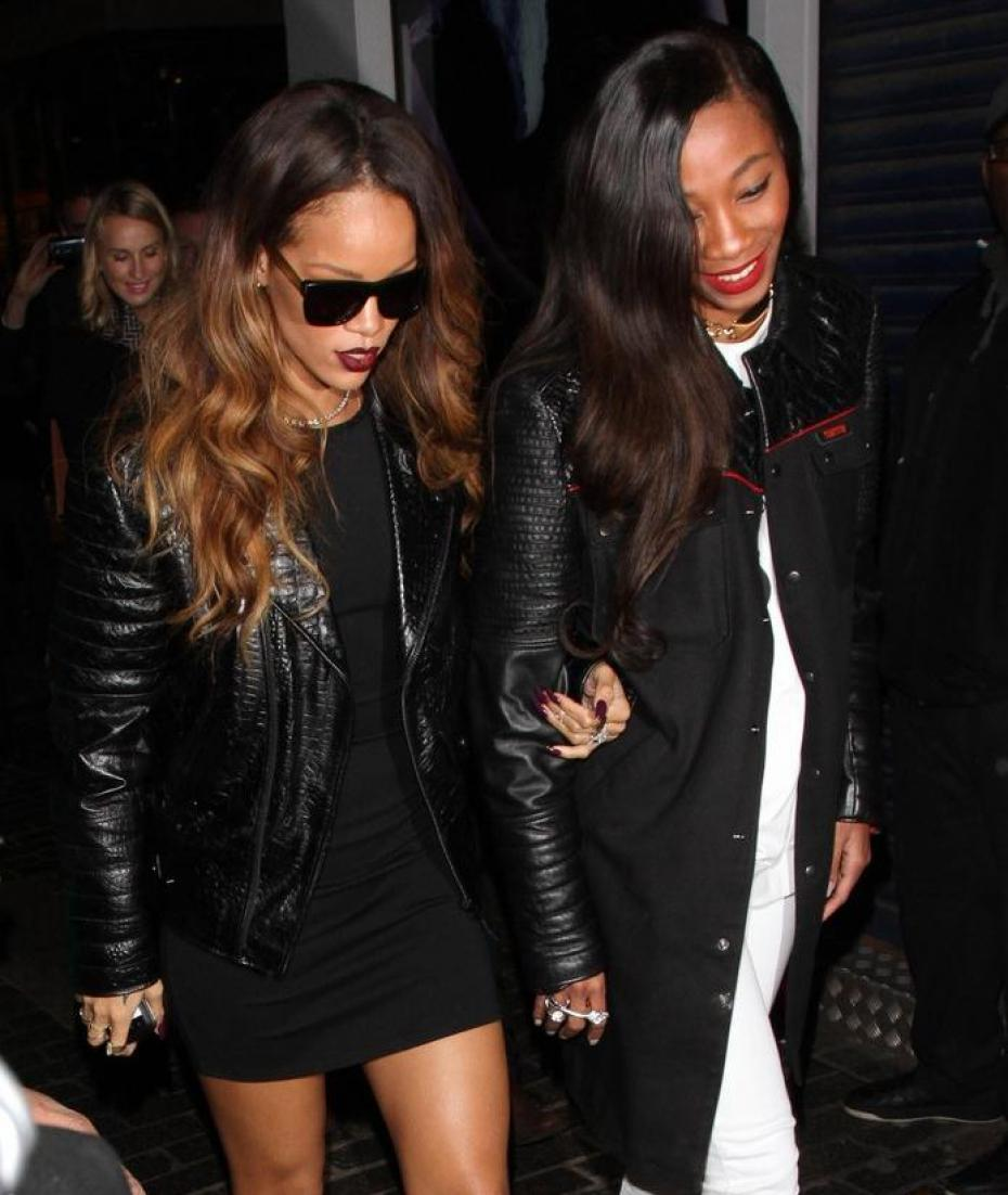 from left to right rihanna and melissa forde image from google. Cars Review. Best American Auto & Cars Review