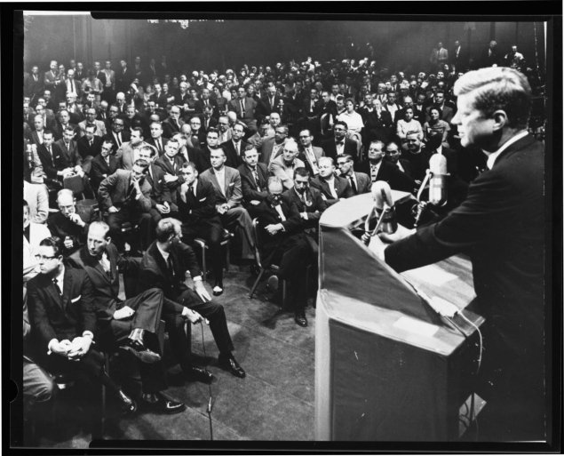 john fitzgerald kennedy the truth revealed essay The economic club of new york is of course familiar  it is a paradoxical truth that tax rates are too high today and tax revenues are too  john f kennedy:.