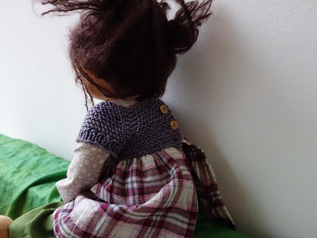 waldorf puppe kleid stricken