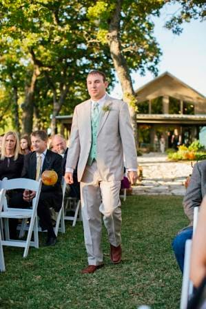 Ryan and Leslie, Processional, Texas Ranch Wedding, Man of Honor