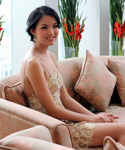 Zi Lin Zhang Miss World 2007
