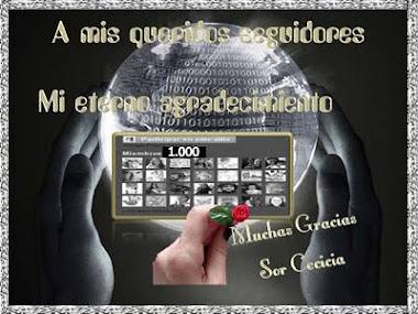 REGALO SOR CECILIA, 1000 SEGUIDORES