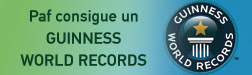 Paf consigue GUINNESS WORLD RECORDS