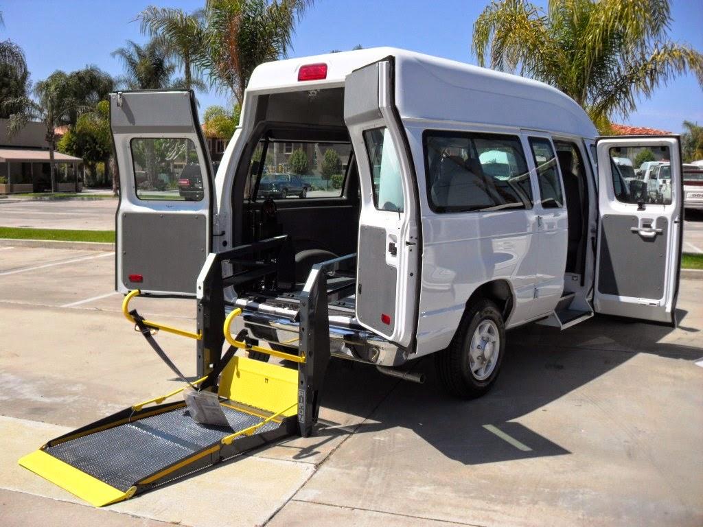 Van With Wheelchair Lift : Sunset vans