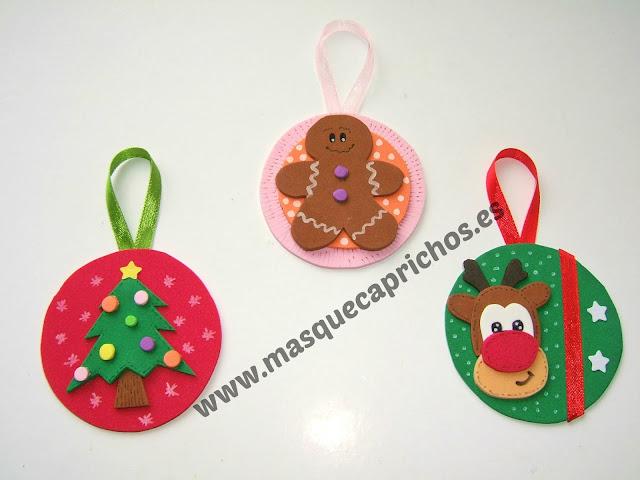 Especial navidad - Manualidades bolas de navidad ...