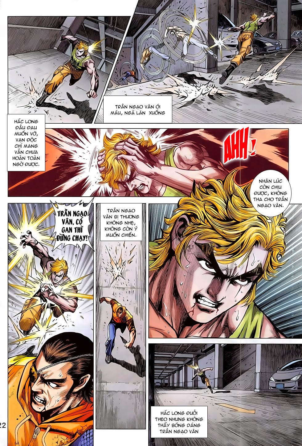 Tân Tác Long Hổ Môn chap 782 Trang 22 - Mangak.info