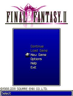 Java Final Fantasy Mobile 1 & 2 (320x240)