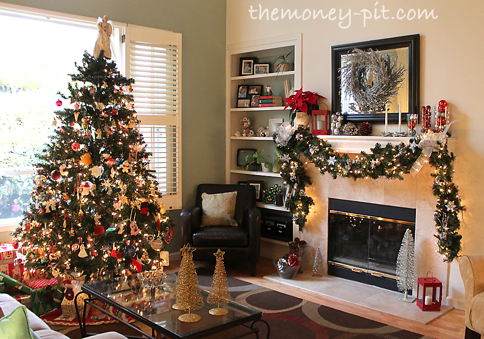 christmas decorated living rooms jpg homes decoration tips