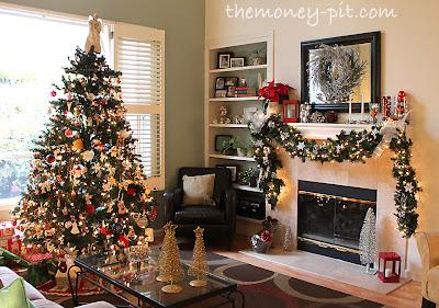 Christmas 2012 Home Tour The Kim Six Fix