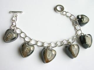 Dog hair bracelet