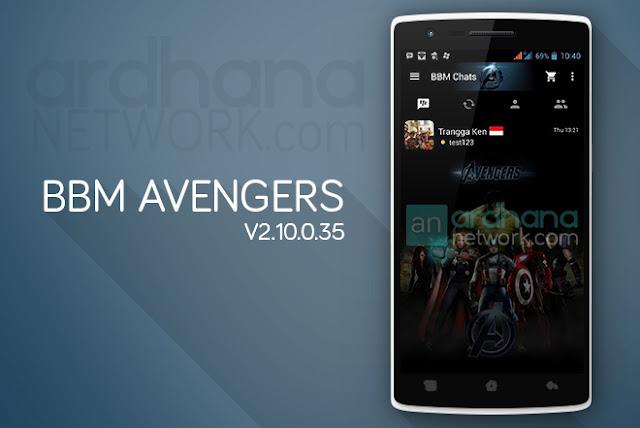 BBM Avengers - BBM Android V2.10.0.35