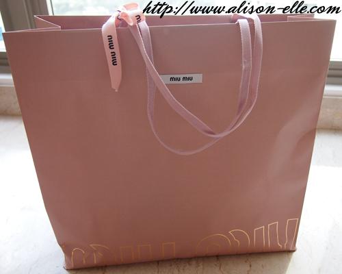 c2d65b6c4e95 Bag Reveal  Miu Miu Mini Bow
