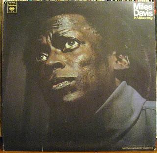 Vintage 1969 LP COVER of a Miles Davis Jazz Rock Classic