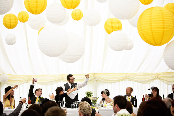 Dream Wedding Come True Under the Marquee