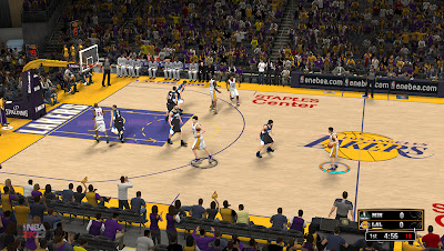 LA Lakers Court (Staples Center) Mod for NBA 2K13 PC XBOX 360 PS3