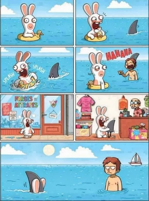 Cartoon, Shark, Prank, Funny pictures, tapandaola111