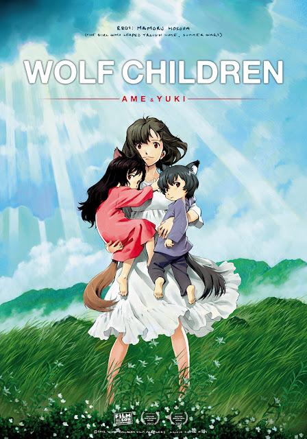 Wolf Children animación cine