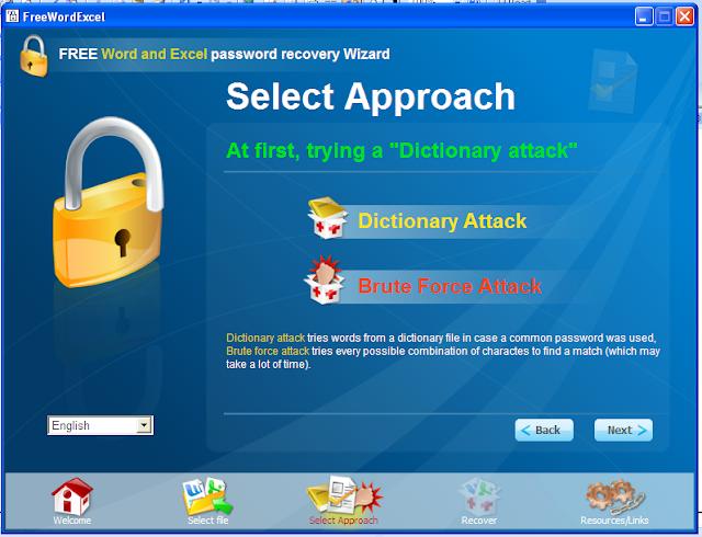 khôi phục mật khẩu word và excel 3