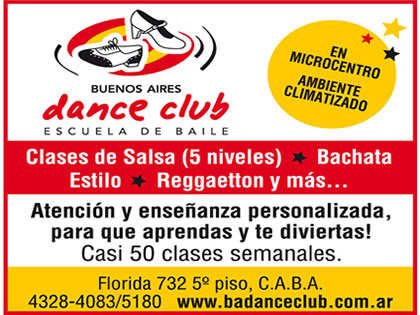 Auspiciantes - DANCE CLUB