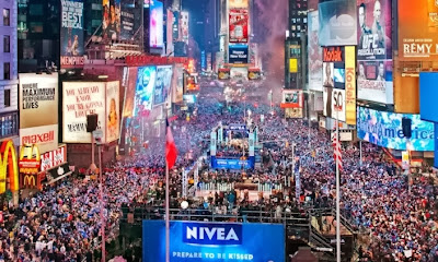 New Year at Times Square