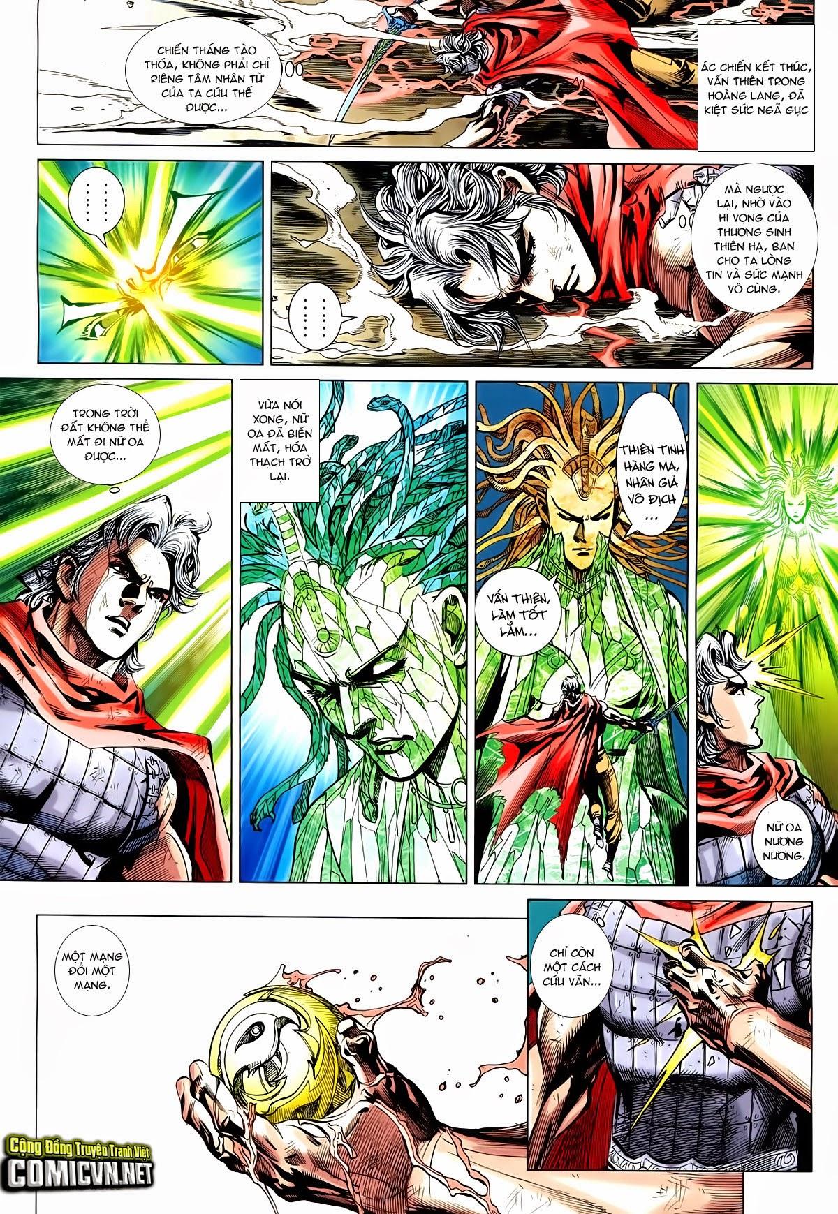 Thần Binh Vấn Thiên chap 36 Trang 26 - Mangak.info