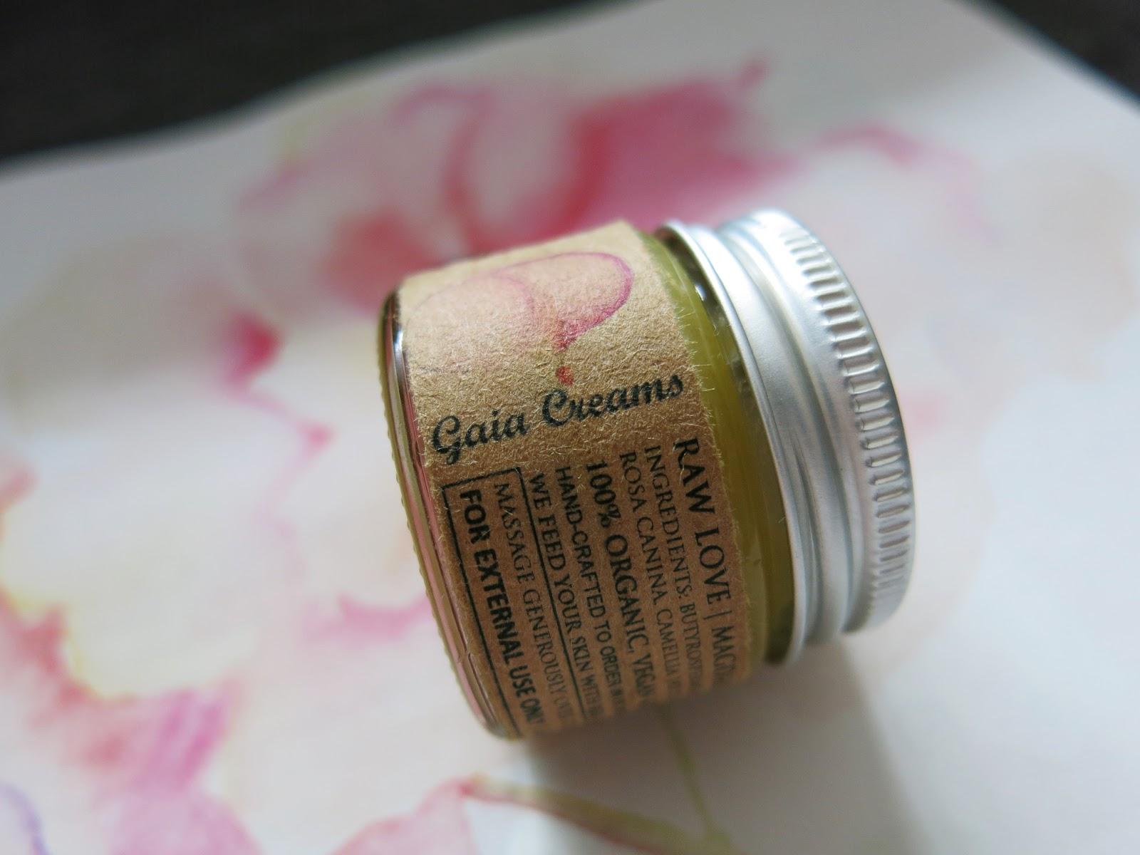 GAIA CREAMS Raw love - Serum pod oczy oraz do twarzy ♥