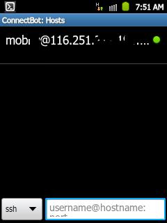 ssh android Cara Menggunakan SSH di Andorid