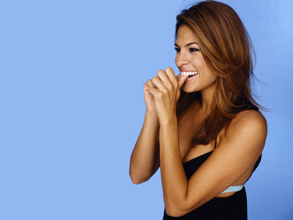 Eva Mendes Hairstyle Trends Eva Mendes Hairstyle Wallpapers