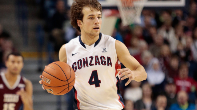 Kevin Pangos tries to lead Gonzaga to its first Final Four