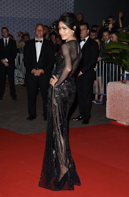 freida pinto cannes film festival actress pics
