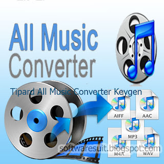 Tipard All Music Converter Keygen Crack Full Version Free Download