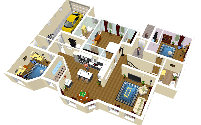 Sweethome 3d 4 4 extras 1 4 pc espa ol ul descargar gratis - Sweet home muebles ...