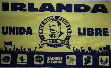 Banderola Irlanda Unida y Libre Connolly - 8€