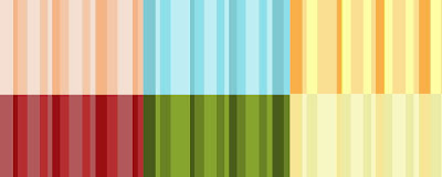 Single-color Stripe Textures and Patterns