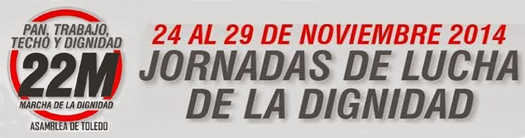 Jornadas de Lucha de la Dignidad en Toledo #22M