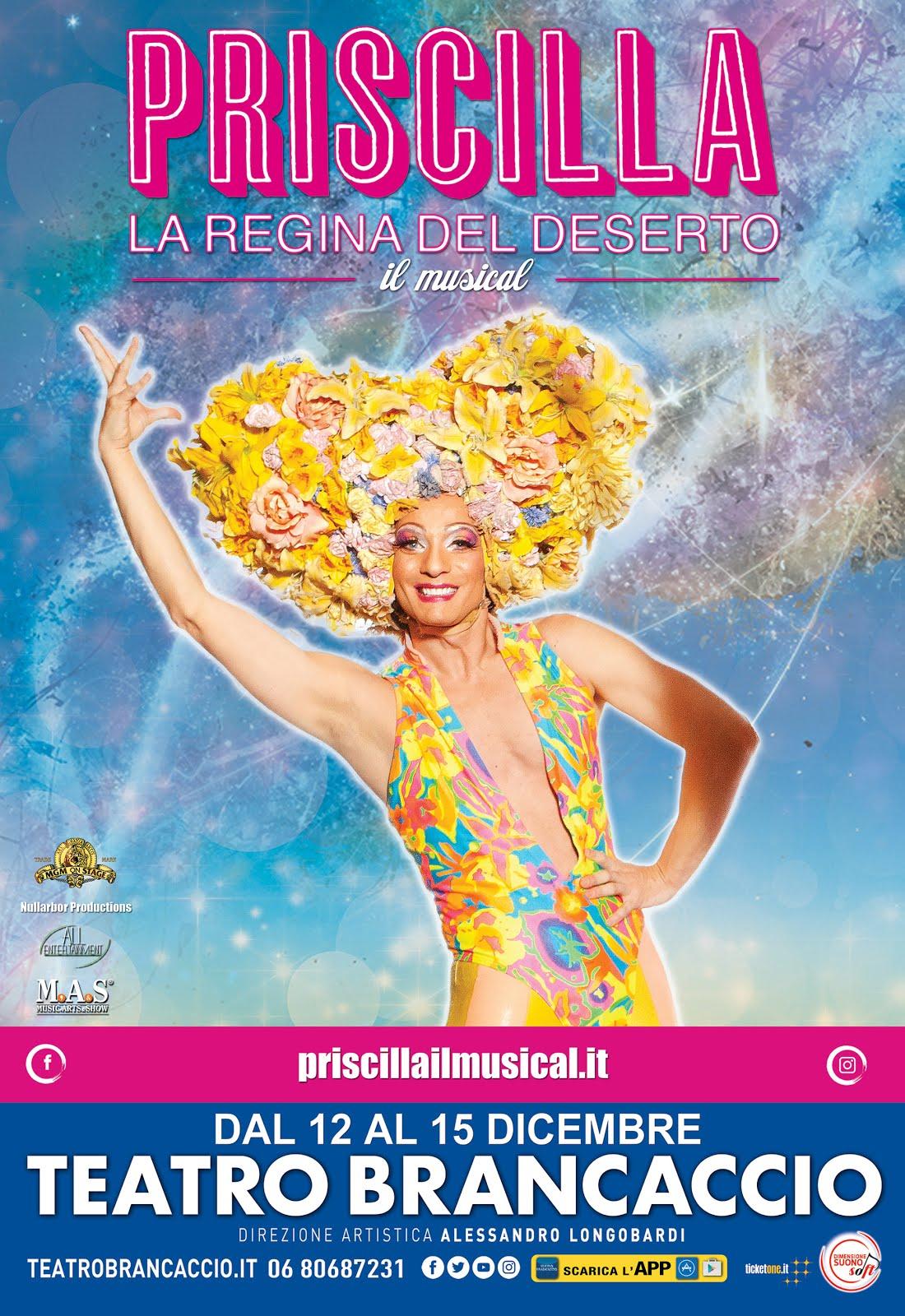 """""""PRISCILLA LA REGINA DEL DESERTO"""" regia di Simon Phillips"""