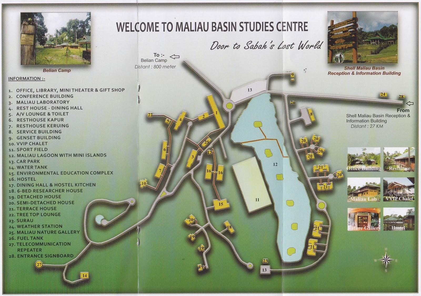 how to get to maliau basin from kota kinabalu