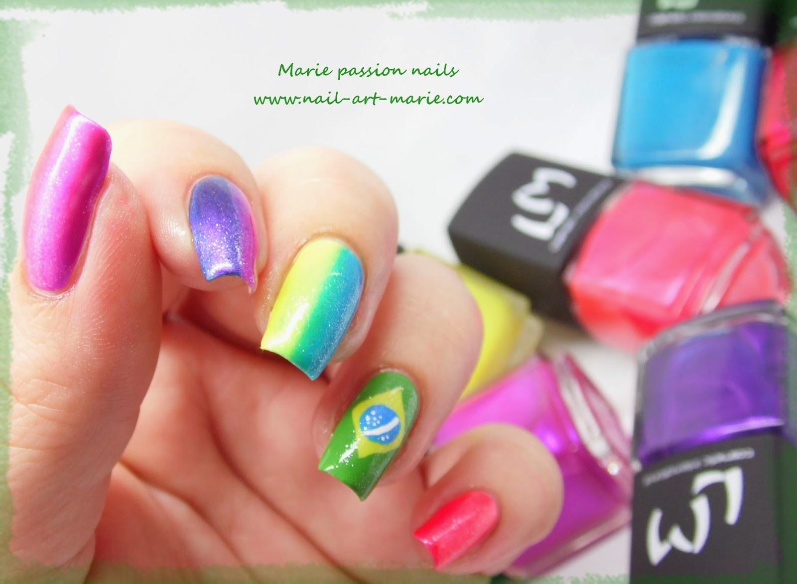 nail art Brésil5
