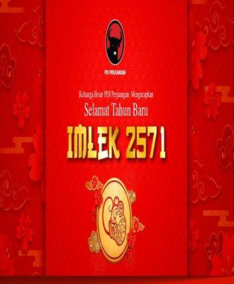 Selamat Tahun Baru IMLEK 2571