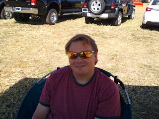 Mark at Lanark Plowing Match