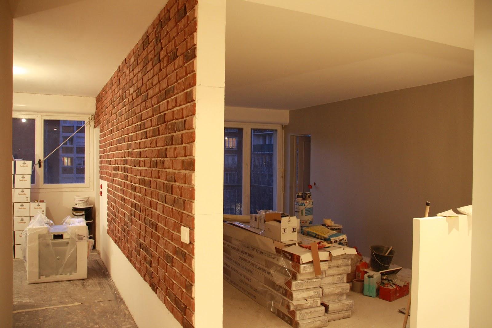 Peindre un couloir en 2 couleurs for Peindre un salon