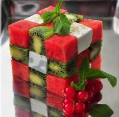 Peque Receta - Cubo Rubick de Frutas