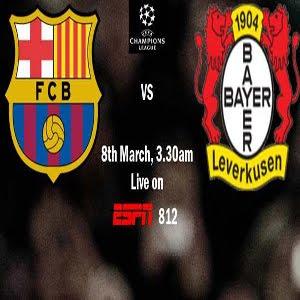 Barcelona vs Bayer Leverkusen (2012)