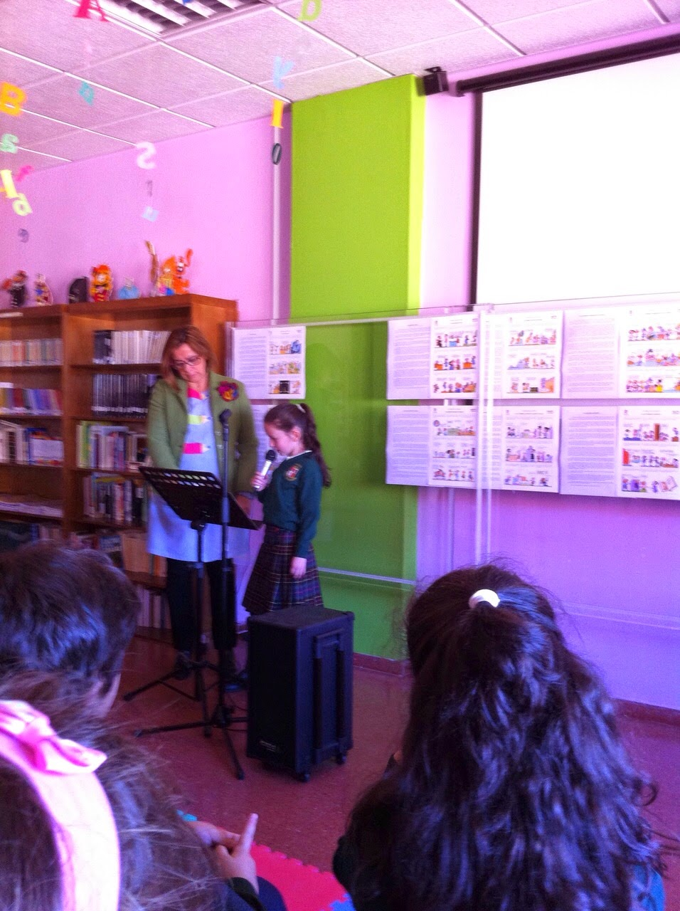 Biblioteca Escolar María Auxiliadora Cáceres: mayo 2015